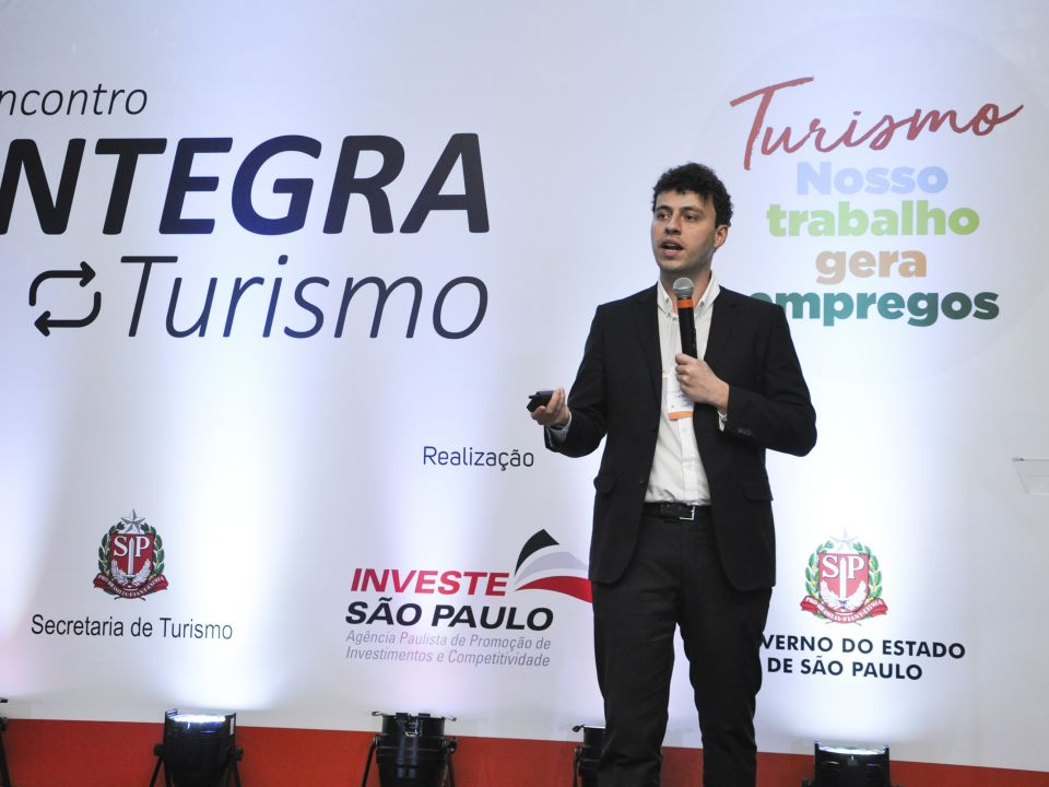 "Investe SP and the Office of Tourism together at ""Integra Turismo,"" in Olímpia"