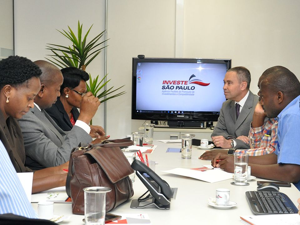 Investe SP welcomes delegation from Uganda to discuss mutual trade