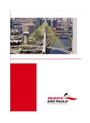 Folder Investe São Paulo